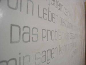 Beschriftungen | Seeland | Wagner Maler
