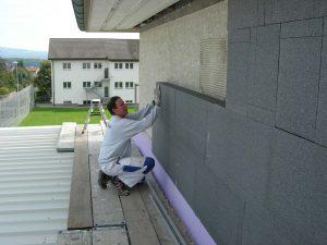 Fassadenisolationnen | Ins | Wagner Maler GmbH