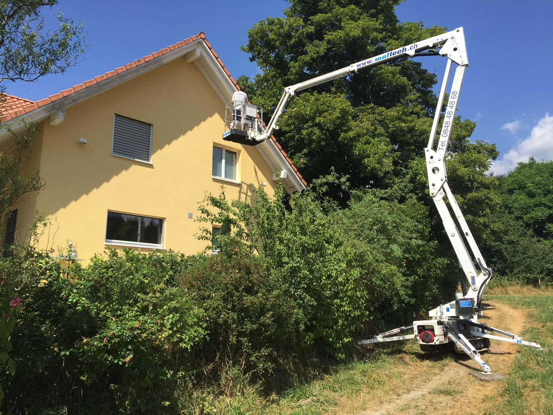 Gebäudeunterhalt | Aarberg | Wagner Maler AG