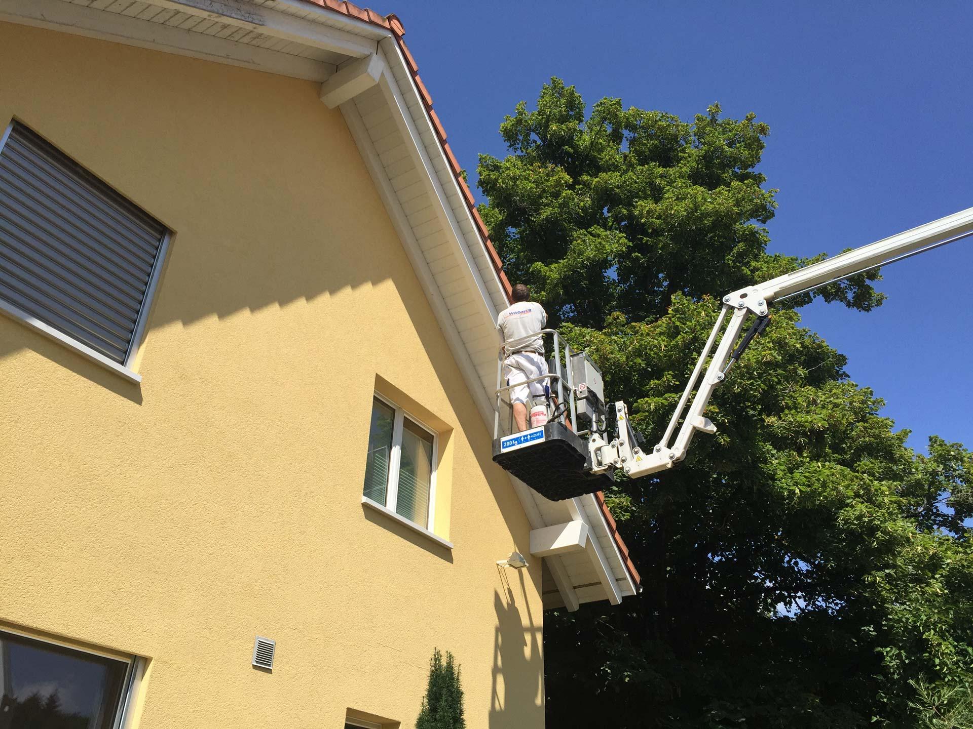 Gebäudeunterhalt | Ins | Wagner Maler AG