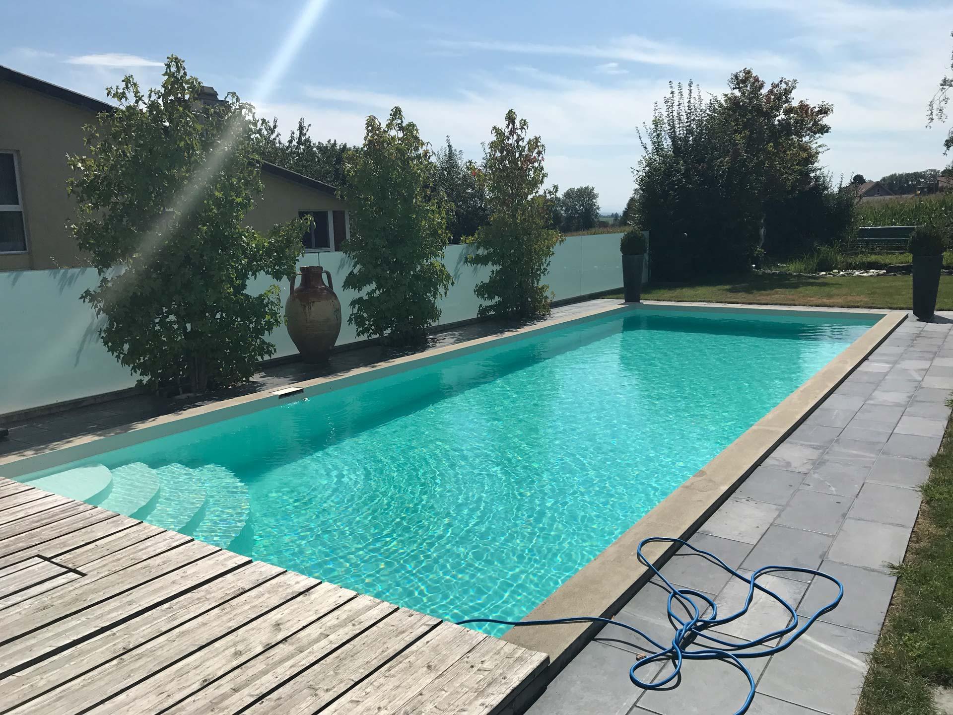 Poolbeschichtung | Gerolfingen | Wagner Maler GmbH