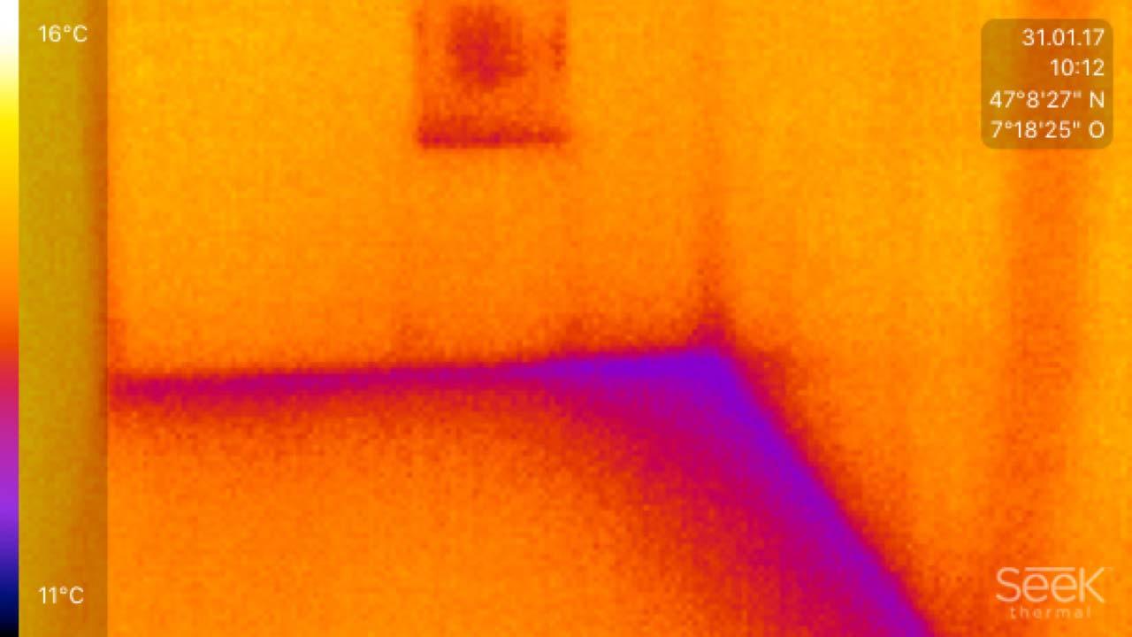 Thermographische Aufnahmen | Kerzers | Wagner Maler GmbH