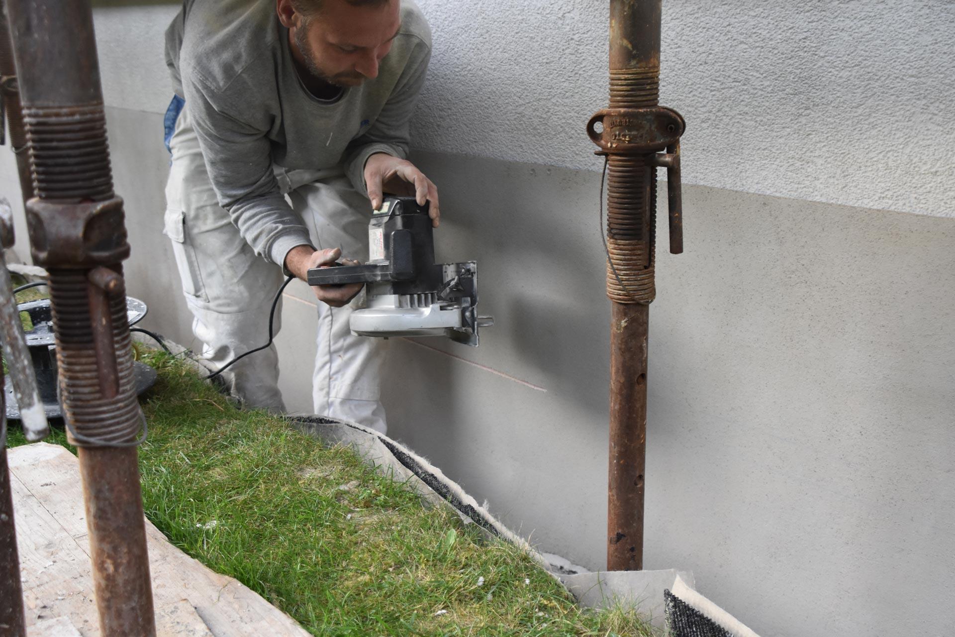 Sockelsanierung | Murten | Wagner Maler GmbH